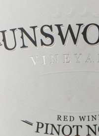 Unsworth Vineyards Reserve Pinot Noirtext