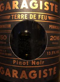 Garagiste Terre de Feu Pinot Noir