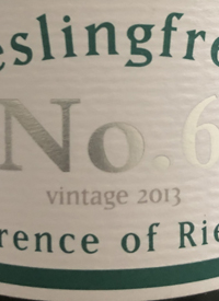 Rieslingfreak No. 6 Clare Valley Aged Release Rieslingtext