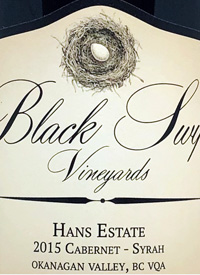 Black Swift Vineyards Hans Estate Cabernet - Syrahtext