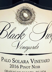Black Swift Vineyards Palo Solara Vineyard Pinot Noirtext