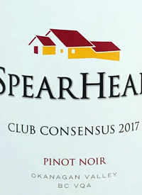 Spearhead Club Consensus Pinot Noirtext
