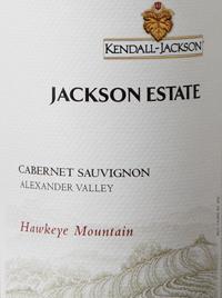 Kendall-Jackson Jackson Estate Hawkeye Mountain Cabernet Sauvignontext