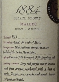 1884 Malbectext