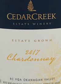 CedarCreek Chardonnay