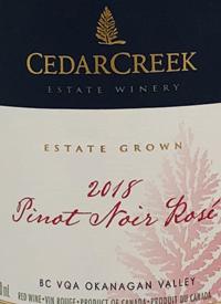 CedarCreek Estate Pinot Noir Rosé
