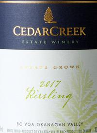 CedarCreek Riesling