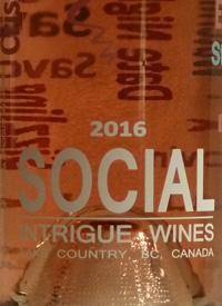 Intrigue Wines Social Rosètext