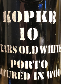 Kopke Ten Years Old White Porto Matured in Woodtext