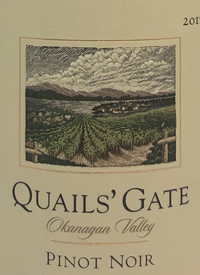 Quails' Gate Pinot Noirtext