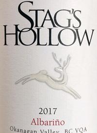 Stag's Hollow Albariño Shuttleworth Creek Vineyardtext