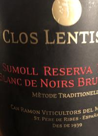 Clos Lentiscus Sumoll Reserva Famila Blanc de Noirs Brut Naturetext