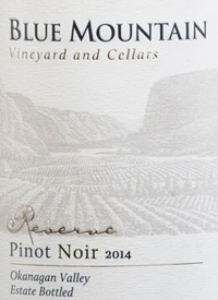 Blue Mountain Reserve Pinot Noirtext