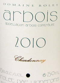 Domaine Rolet Arbois Chardonnay