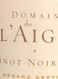 Gérard Bertrand Domaine de l'Aigle Pinot Noirtext