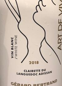 Gérard Bertrand Art de Vivre Clairette du Languedoc Adissan