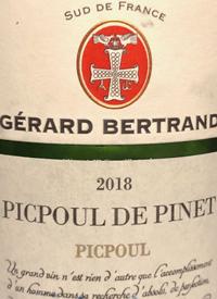 Gérard Bertrand Terroir Picpoultext