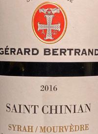 Gérard Bertrand Terroir Saint Chinian Syrah Mourvèdretext