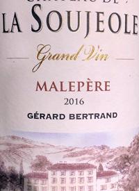 Gérard Bertrand Château de la Soujeole Grand Vin Rougetext