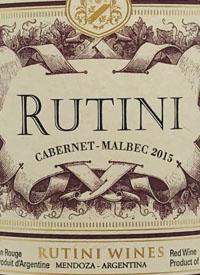 Rutini Cabernet Sauvignon - Malbectext