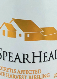 Spearhead Botrytis Affected Late Harvest Rieslingtext