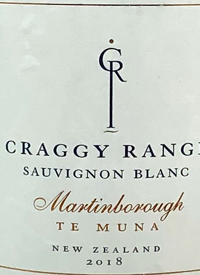 Craggy Range Sauvignon Blanc Te Muna Road Vineyardtext