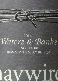 Haywire Waters and Banks Pinot Noirtext