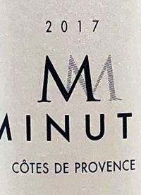 M de Minuty Rosétext