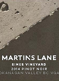 Martin's Lane Simes Vineyard Pinot Noirtext