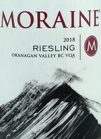 Moraine Rieslingtext