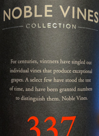 Noble Vines Collection 337 Cabernet Sauvignontext