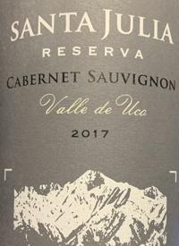 Santa Julia Reserva Cabernet Sauvignontext