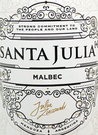 Santa Julia Malbec + Julia Zuccarditext