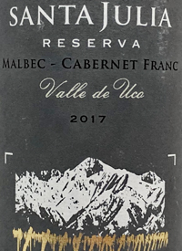 Santa Julia Reserva Malbec Cabernet Franc