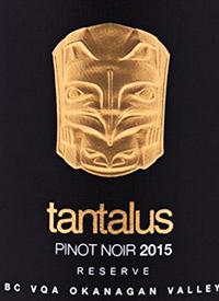 Tantalus Pinot Noir Reservetext