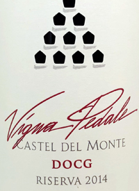 Torrevento Vigna Pedale Castel del Monte Rosso Riservatext