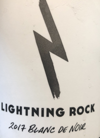 Lightning Rock Blanc de Noir Brut Naturaltext