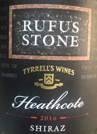 Rufus Stone Heathcote Shiraztext