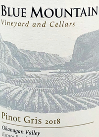 Blue Mountain Pinot Gris