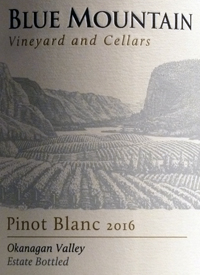Blue Mountain Pinot Blanc