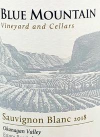 Blue Mountain Sauvignon Blanc