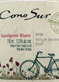 Cono Sur Bicicleta Organic Sauvignon Blanctext