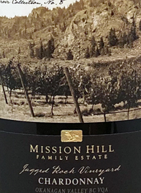 Mission Hill Terroir Collection No. 8 Jagged Rock Vineyard Chardonnay