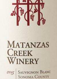 Matanzas Creek Sauvignon Blanctext