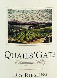 Quails' Gate Dry Rieslingtext