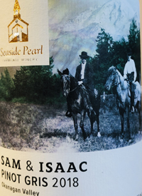 Seaside Pearl Sam and Issac Pinot Gris