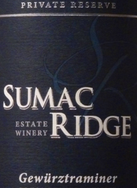 Sumac Ridge Gewürztraminer Private Reserve