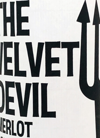 The Velvet Devil Merlottext