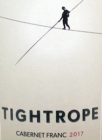Tightrope Winery Cabernet Franctext