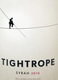 Tightrope Winery Syrahtext